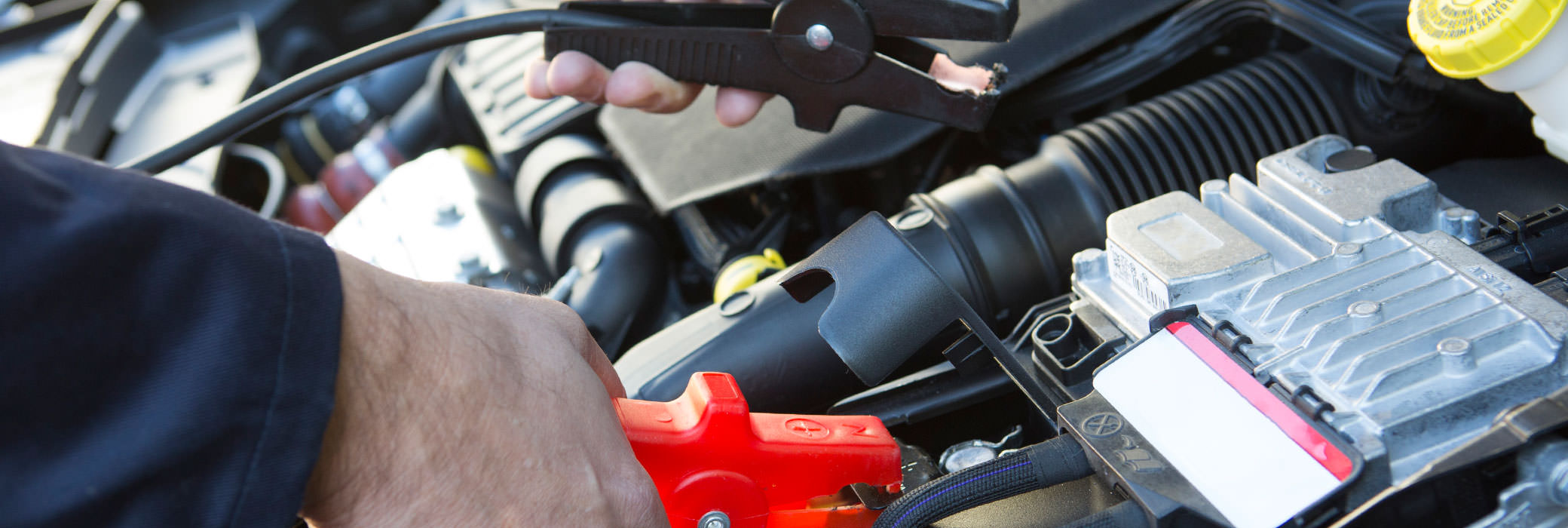 How to Jump-start a dead battery in nine simple steps.