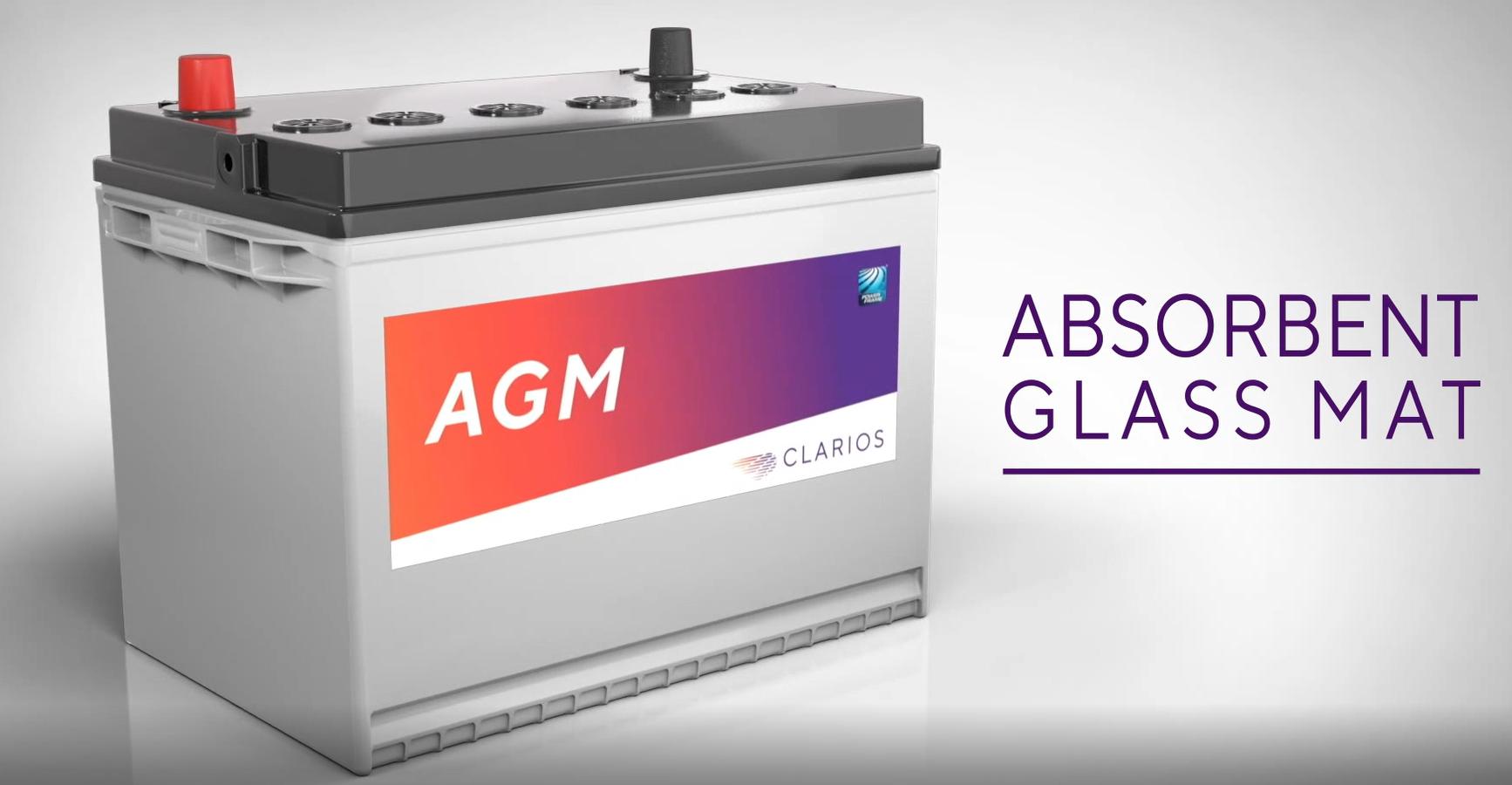 Absorbent Glass Mat (AGM) Car Battery | Autobatteries.com | Clarios