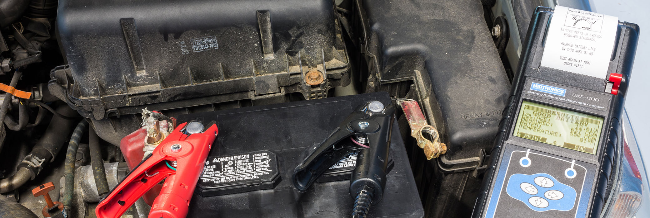 How To Test Your Auto Battery Battery Testing Maintenance
