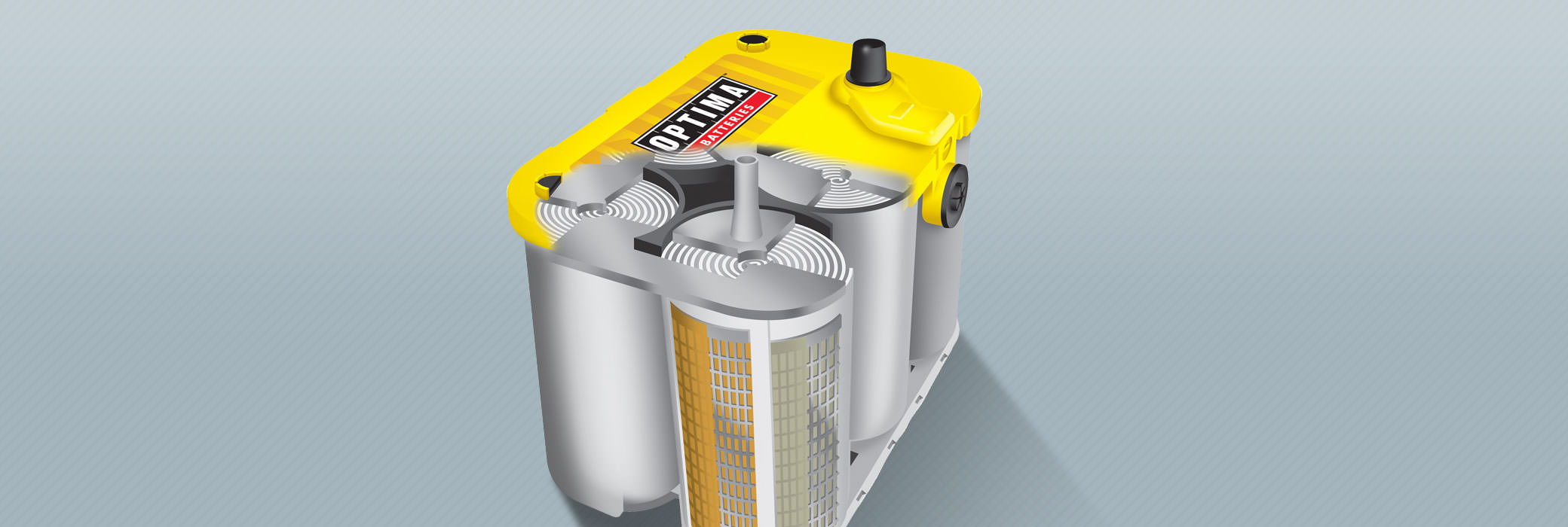 OPTIMA Batteries with SPIRALCELL TECHNOLOGY have unmatched power, reliability and durability.
